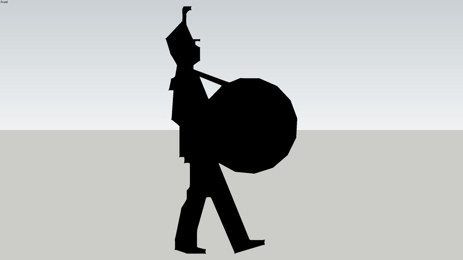 Marching Band Drummer 2