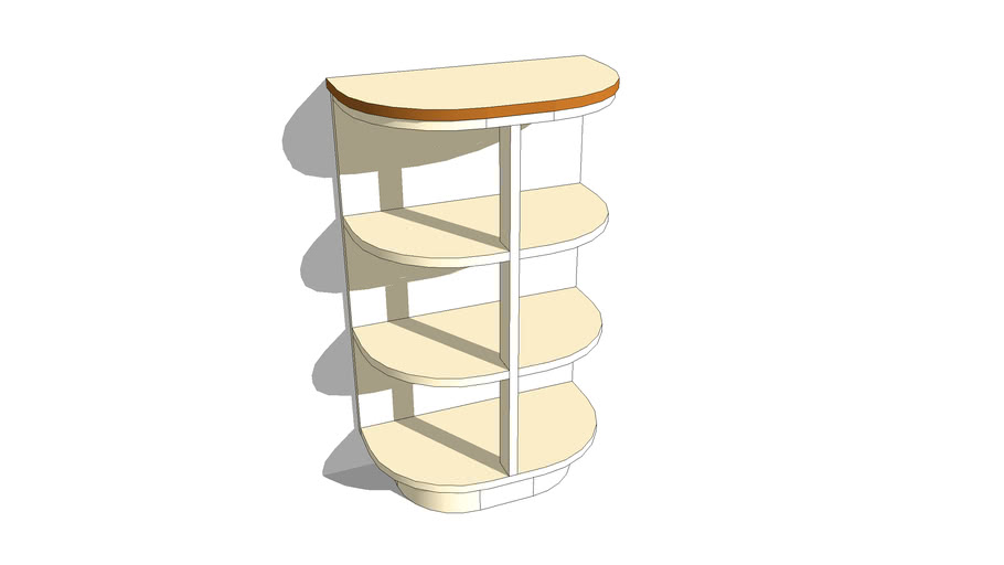 36 – Floor Shelf Unit No'2