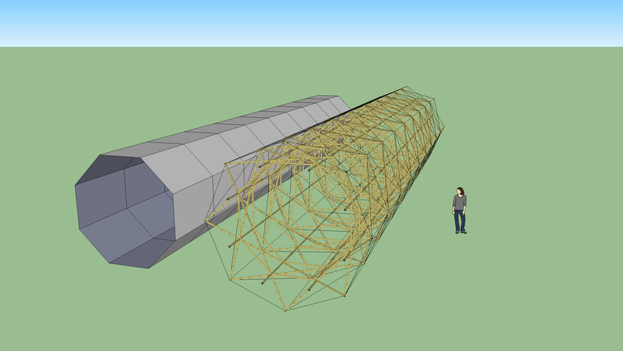 bamboo isotruss