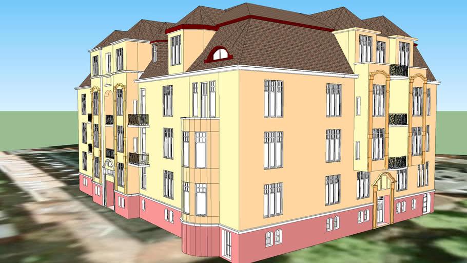 TENEMENT HOUSE ON 10 ZAMOYSKIEGO STREET IN BYDGOSZCZ