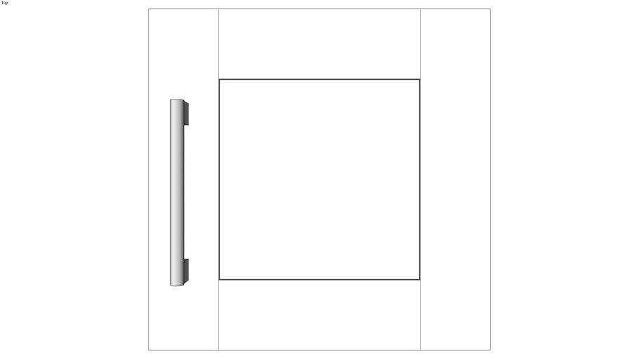 Wall Single Door 15H