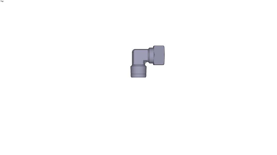 0109 - MALE STUD ELBOW BSP TAPER AND NPT THREAD DIAM D 20 MM C R3/4