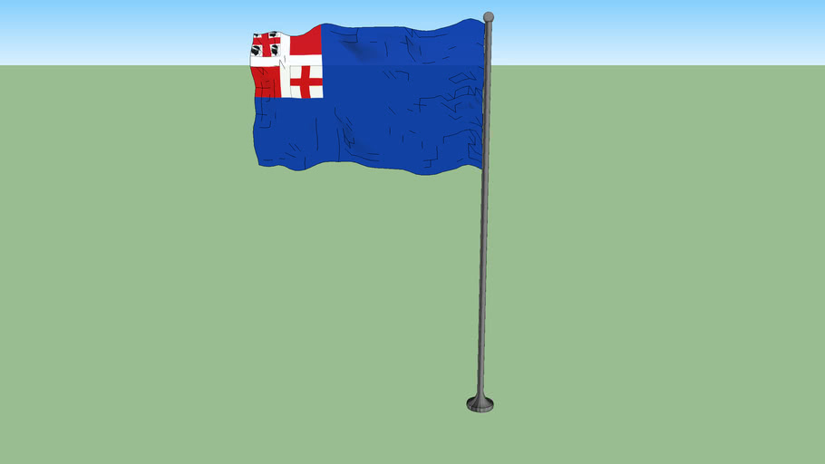 Merchant flag and war ensign of the Kingdom of Sardinia