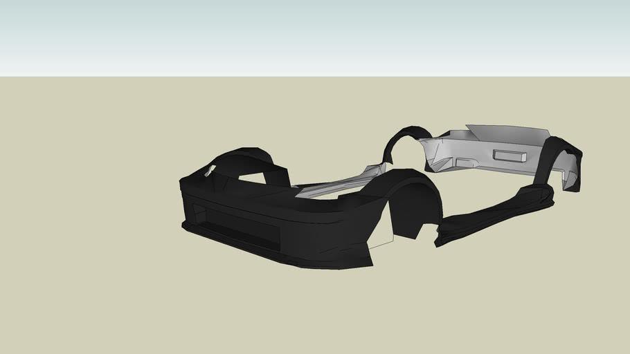 dk nissan 350z body kit