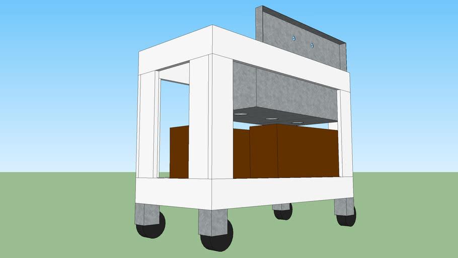 Portable Sink Cart