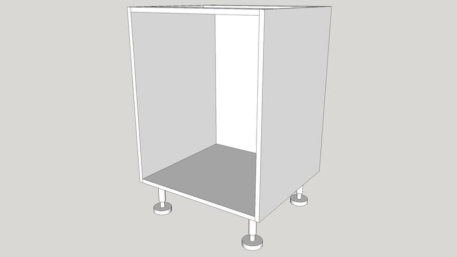 Kitchen base cabinet (metric)