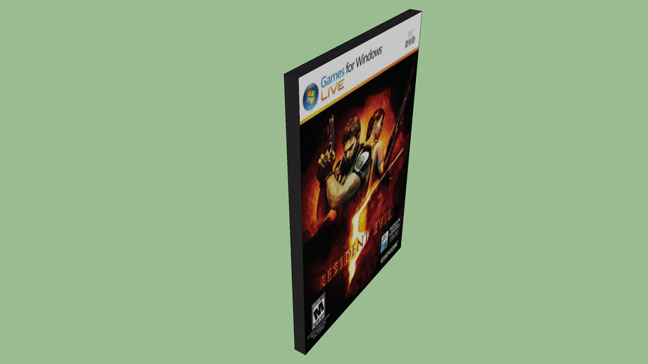 Resident Evil 5 3d Warehouse