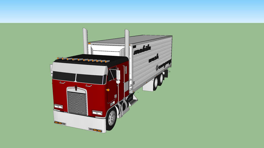 kenworth k100 with 24 foot box