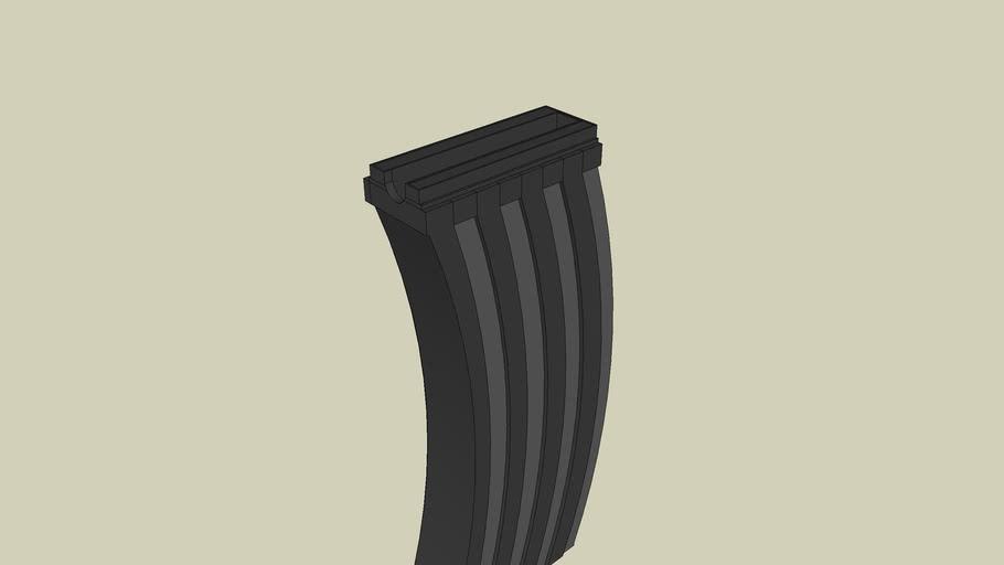 Unfinished AK-47 magazine