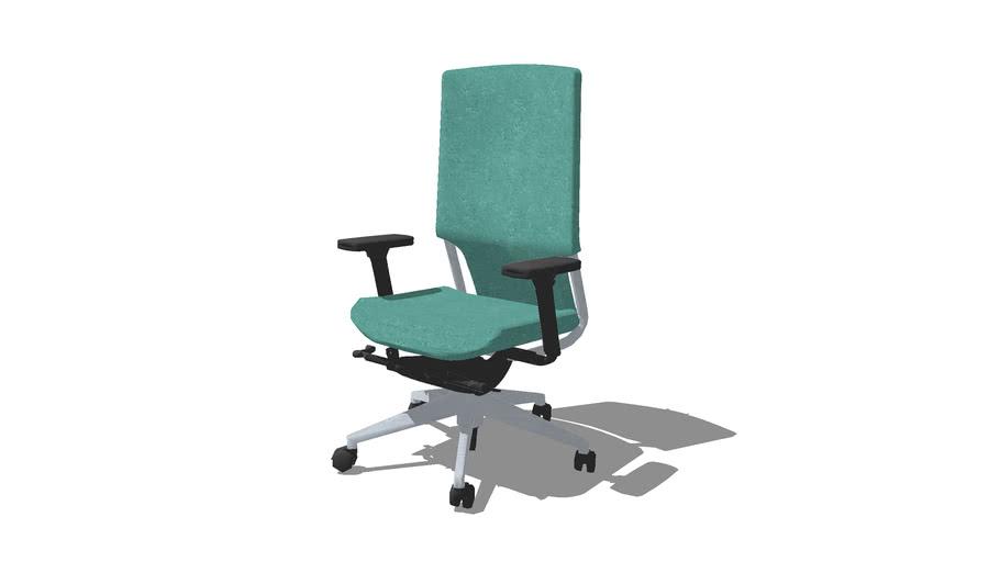 E-PLUS sin cabezal silla giratoria
