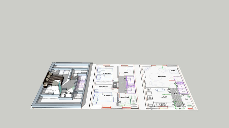 3d floorplans not finished