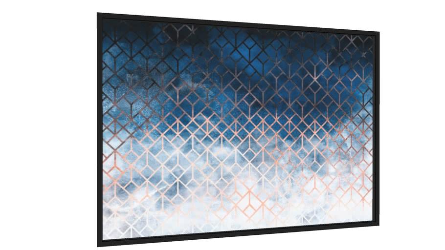 Quadro Geometric Subtle Texture - Galeria9, por Art Design Works