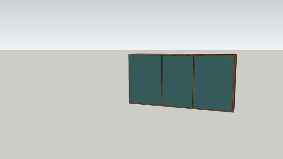 Kök överskåp 1800x900x400 mm