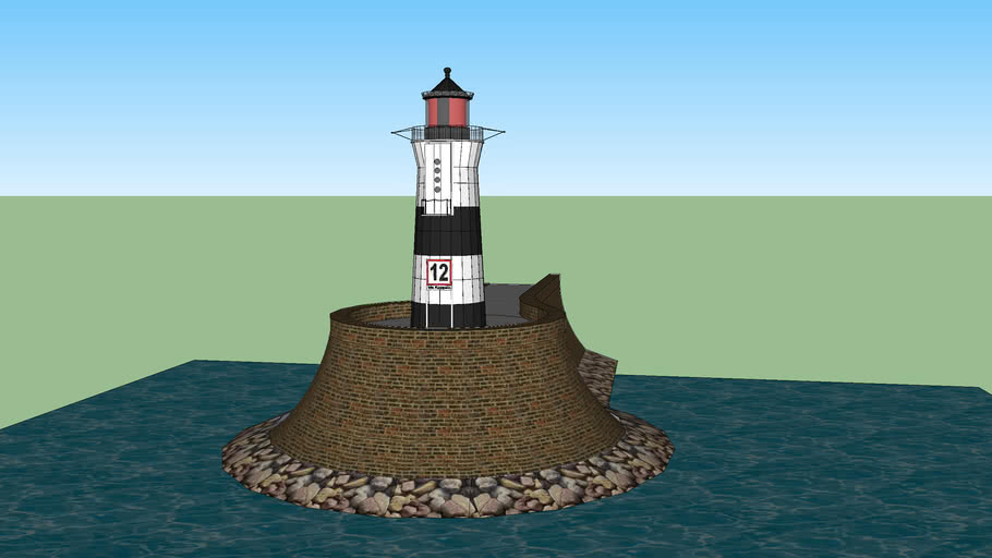 Schleimünde Leuchtturm