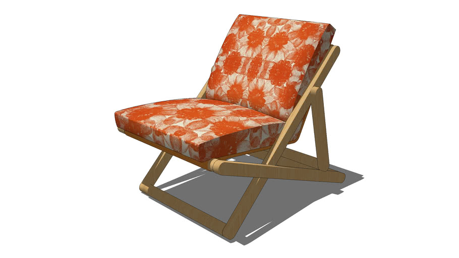 YOLO-01 Upholstered Deck Chair