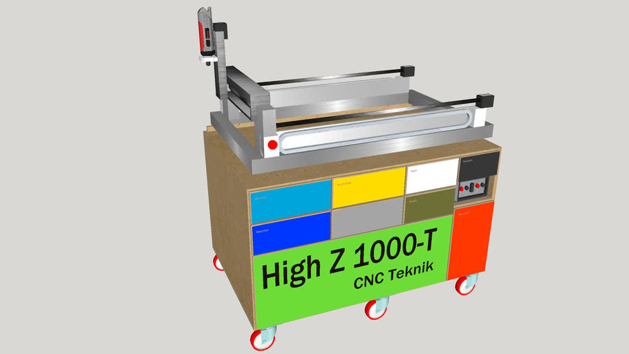 Heiz High-Z 1000-T cnc with table