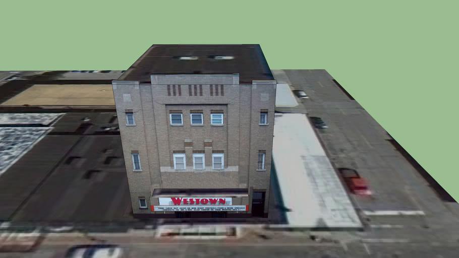 Westown Theater And Nightclub, Bay City, Bay, Michigan