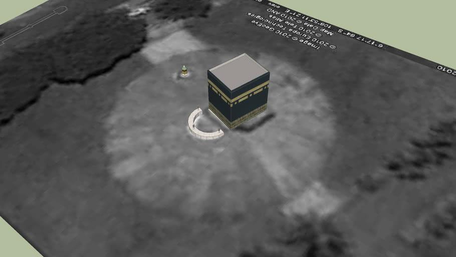 Miniatur Kaaba, Asrama Haji Pondok Gede