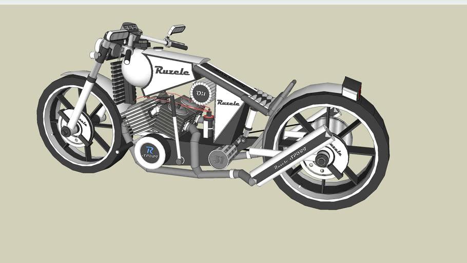Motorbike Audrius Lithuania