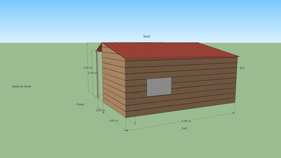 Hangar/abri de jardin
