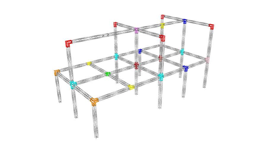 Metalworx ST truss junction identifier