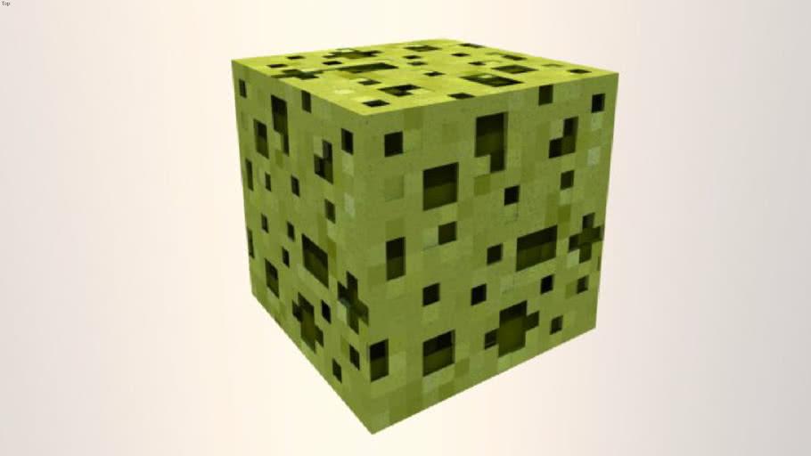 Minecraft cube id 19