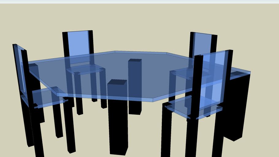 ultra modern kitchen table