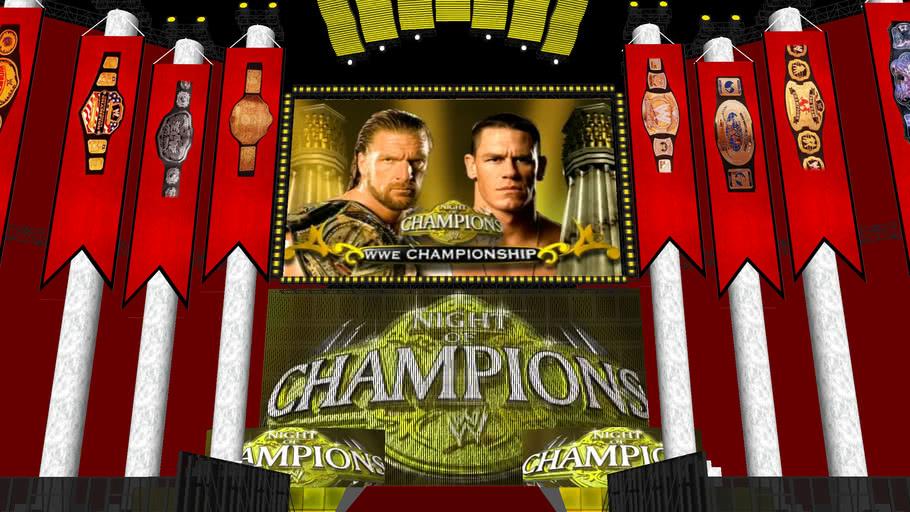 WWE Night of Champions 2009 HD Stage
