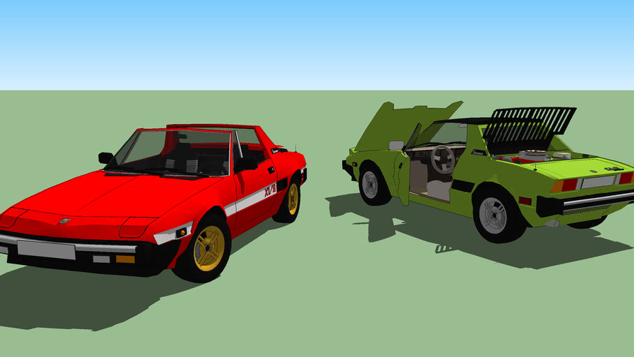Fiat X1/9   (1982)