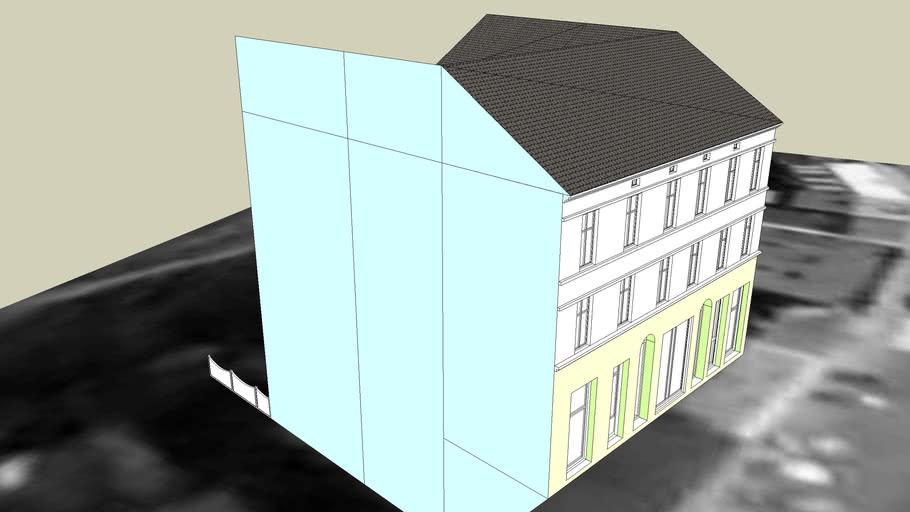TENEMENT HOUSE ON 4 POZNANSKA STREET
