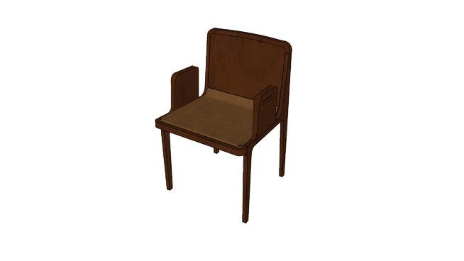 Cadeira Oscar com braço