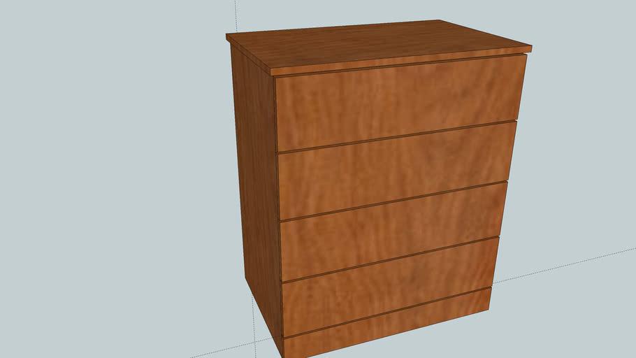 Cherry Dresser Modern
