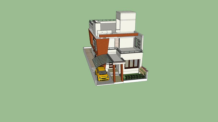 small duplex house