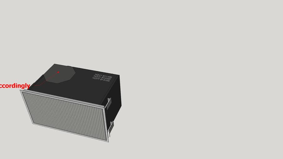 NOVY 841400 842400 843400 Umluftbox / recirculationbox / caisson recyclage