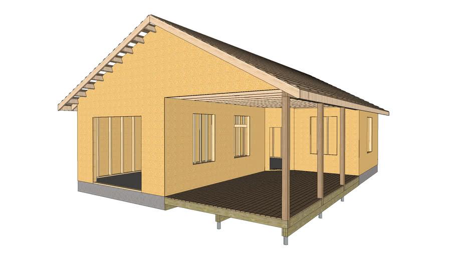 Framing barn