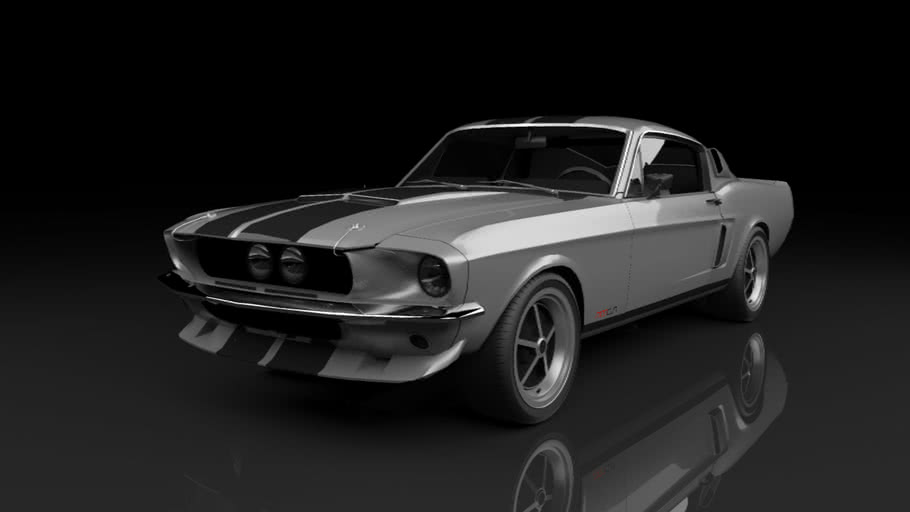Shelby Mustang GT 500 Vray On | Junior Pedrozo