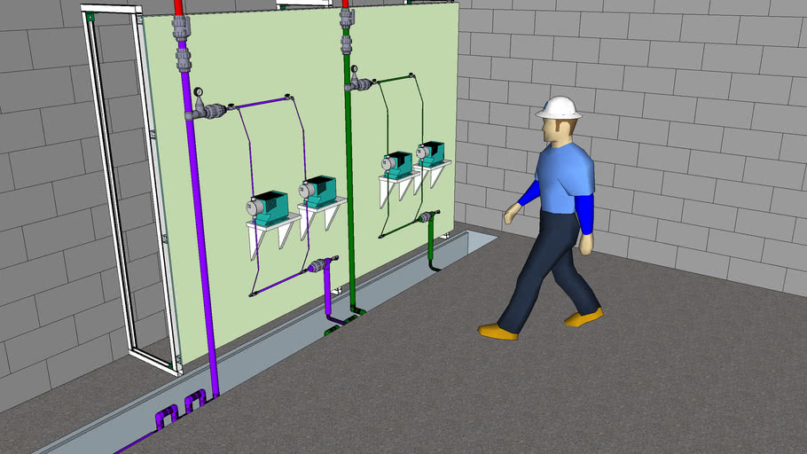 Hypo Chemical Addtion Pump Train