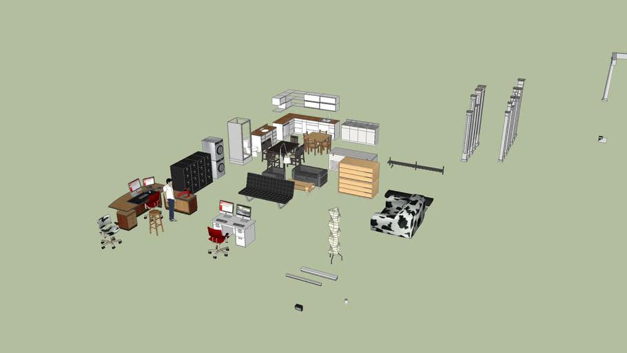Random House and Office Stuff