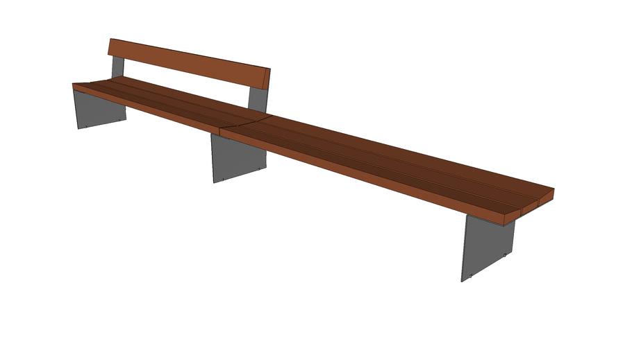 "Bancal 168"" Bench"