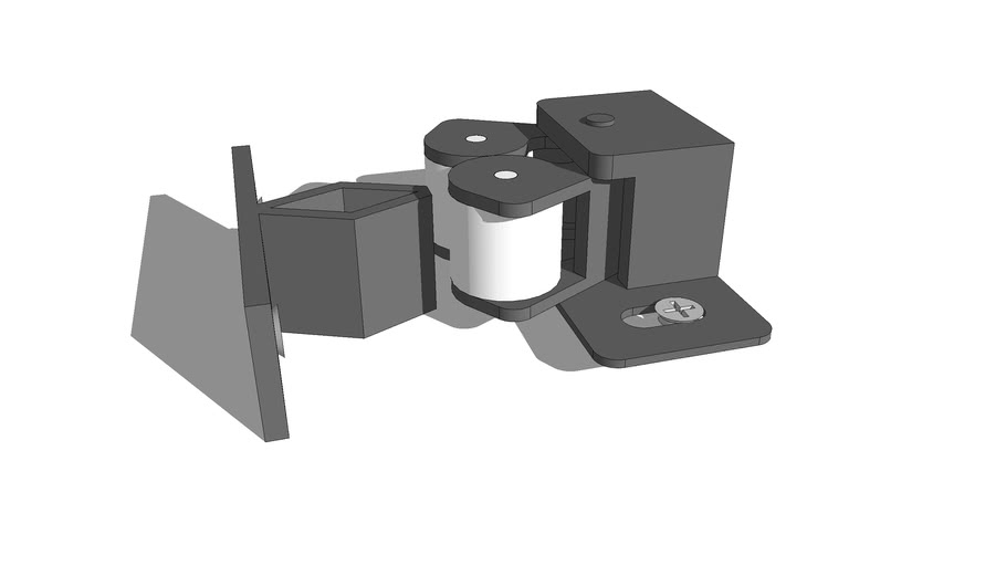 Cabinet roller catches and latches