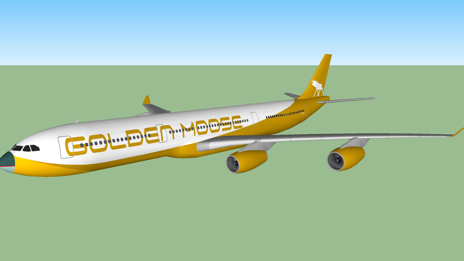 Golden Moose Airways A340-341 (2013)