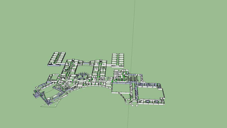 Columbia High School 3D Floorplan