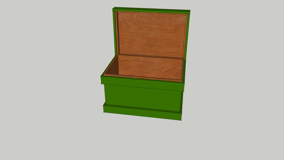 Wood toolchest