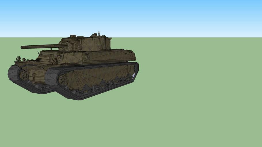 world of tanks T1 Heavy (Textured)
