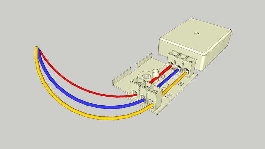 TAE Elektrische box voor lampen