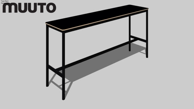 Muuto Table | BASE High 190x50x95