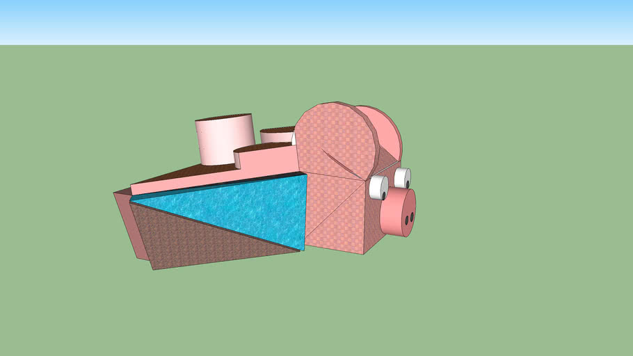 The Amazing & wounderful Pig House By: Oivia Carlile