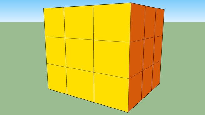 mein Rubik's Cube