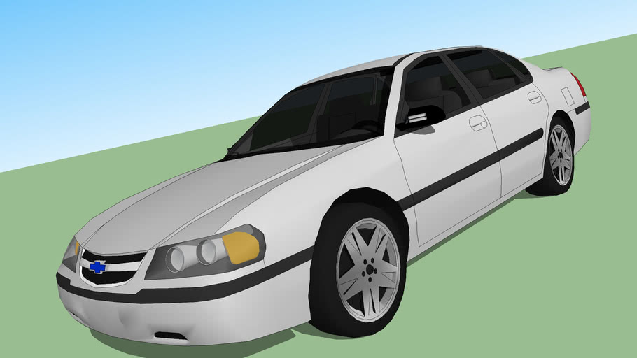 2000 Chevrolet Impala 3d Warehouse