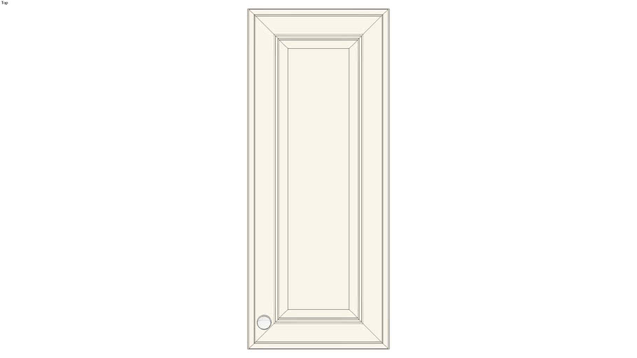 Wall Single Door 36H